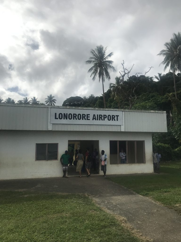 Lonorore airport - just one small room